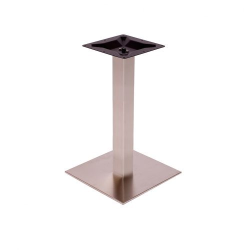 stainless steel square base in standard height