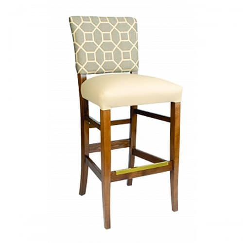 Remy Accent Barstool with upolstery back and seat