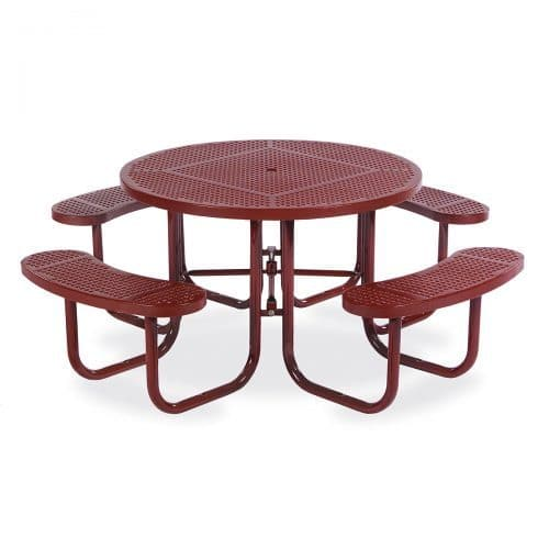 """46"""" round table seats 8"""