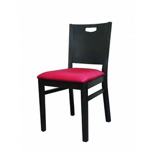 Soho chair with vinyl seat