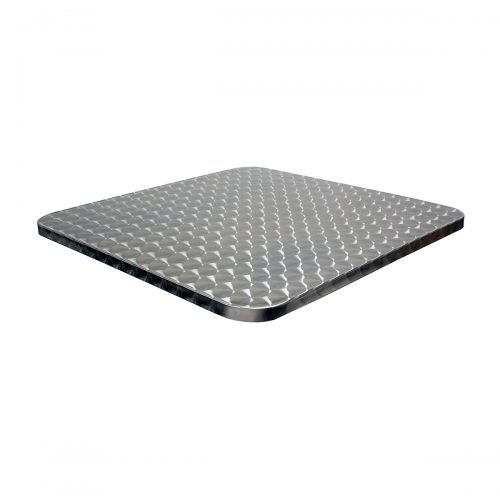 outdoor stainless steel table top