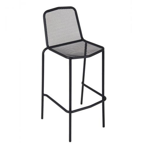 mesh black outdoorbarstool