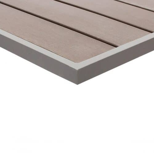 gray wood outdoor table top