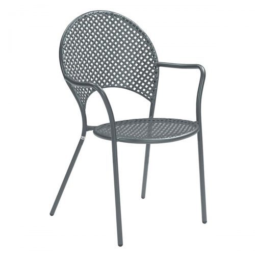 sole steel arm chair