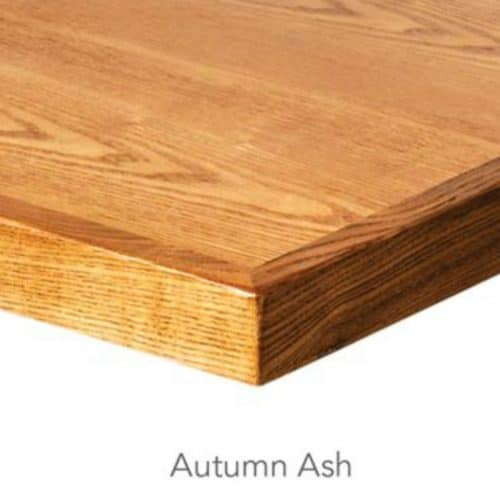 autumn ash wood veneer table top