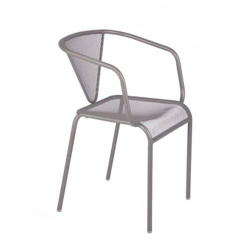 venice beach arm chair titanium