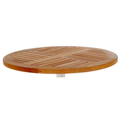 natural teak outdoor table top