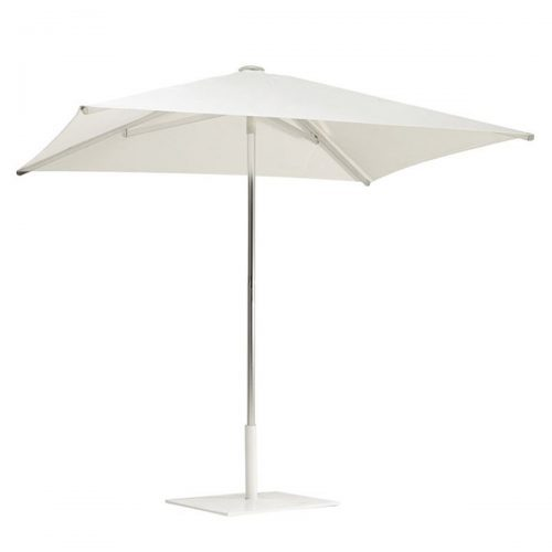 square umbrella shade with aluminum pole