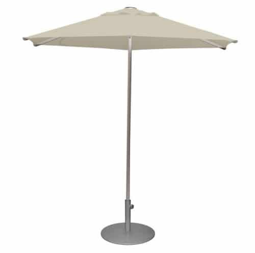 hexagonal umbrella with aluminum pole