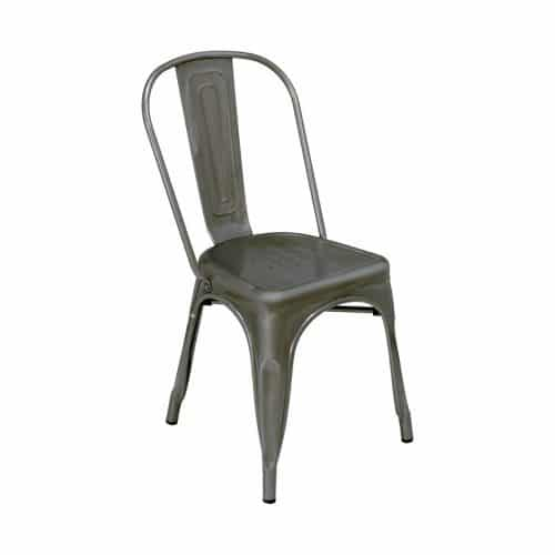 industrial chair bronze